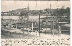 Vestfold fylke Tønsberg kanalen brukt 1907 Utg Carl Falch