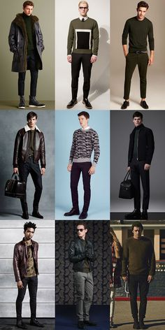 Men's Military-Inspired and Military Green Knitwear Outfit Inspiration Lookbook