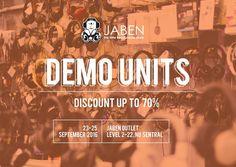 23-25 Sep 2016: JABEN NU Sentral Demo Clearance Sale