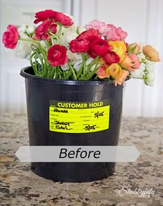 How To Transform A Flower Bucket In Under An Hour  *DIY*