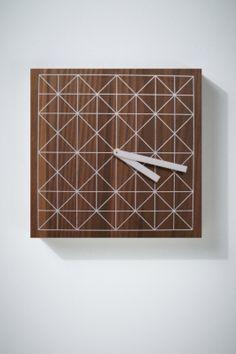 Zegar trójkątnie