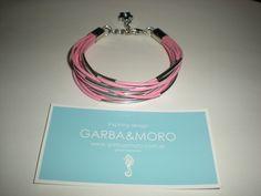 pink ATENEA bracelet  http://www.etsy.com/shop/GARBAMORO