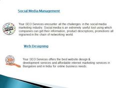 http://www.yourseoservices.com/, call @ 9740873926 or 8042111388 For Best SEO Services in Bangalore.At Your SEO Services, we provide a genuine money back guarantee if the results are not achieved. We are able to offer this guarantee as we have a dedicated team of SEO Researchers, who are constantly on the lookout for new tips, updates and trends in SEO industry.