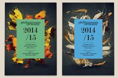 Identity and art direction of the 2013/14 season of the London Philharmonia Orchestra.