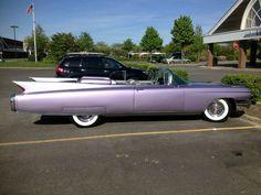 Pink Caddy DeVille Convertible - Bridgehampton, NY