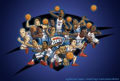 OKC Thunder Team!