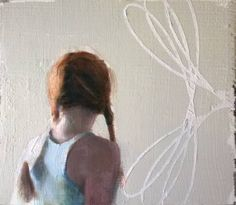 "Saatchi Art Artist Silja Selonen; Painting, ""h i l - j a a  (silently)"" #art"