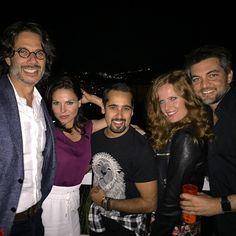 What a great night buddies ❤️... @marckayne @bexmader @lanaparrilla @fred_diblasio @netflix #ea #EverAfter #OnceUponATime #EverAfterBRCon #Netflix #bexmader #lanaparrilla