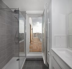 Building Layout, Building Facade, Mechanical Ventilation, Block Center, Paris Climate, Timber Panelling, Urban Fabric, Concrete Structure, Living Environment