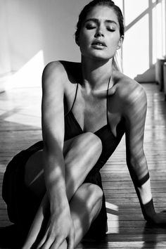 "Doutzen Kroes in ""Easy like sunday morning"" by Josh Olins for WSJ Magazine, March 2015"