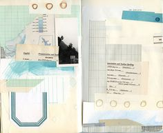Feel like playing with papers...sketchbook 16 by katie licht