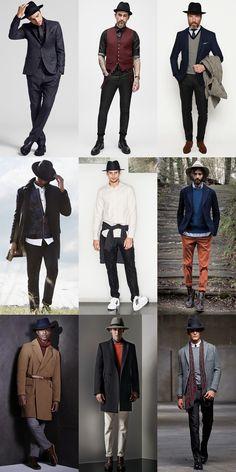 Men's Fedora Hat Outfit Inspiration Lookbook