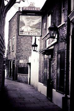 The Dove Pub in Hammersmith,