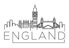 England Skyline Vinyl wall art, assorted sizes and colors available.