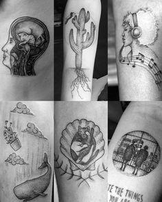 Todo mundo (ou quase) já sabe que eu amo tatuagens, né? ❤️ E o post de hoje é diferente dos que eu costumo fazer desse tipo, já que n...