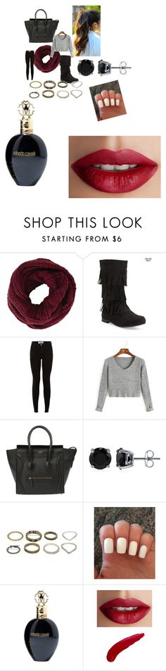 """""""Untitled #1005"""" by fashionicon67 ❤ liked on Polyvore featuring BCBGMAXAZRIA, Aéropostale, CÉLINE, BERRICLE, Roberto Cavalli, TheBalm, women's clothing, women's fashion, women and female"""