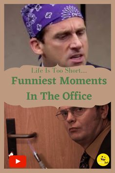 Funniest Moments In The Office #funnymoments #tvseries #theoffice #funny Funniest Moments, Funny Moments, Life Is Short, Invite Your Friends, You Funny, Funny Comics, The Office, Tv Series, Channel