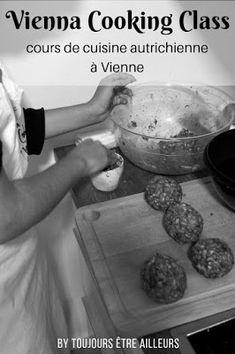 Vienna Cooking Class propose des cours de cuisine à Vienne pour apprendre à préparer des spécialités autrichiennes: Schnitzel, Apfelstrudel, Knödel... Dumpling Recipe, Dumplings, Learn To Cook, Cooking Classes, Dog Bowls, Favorite Recipes, Meals, Foodies, Blog