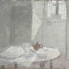 Interior, Gwen John, 1924 Manchester Art Gallery, oil on canvas Gwen John, Manchester Art, Post Impressionism, Oil Painting Reproductions, Art Uk, Modern Artists, Your Paintings, Landscape Paintings, Les Oeuvres