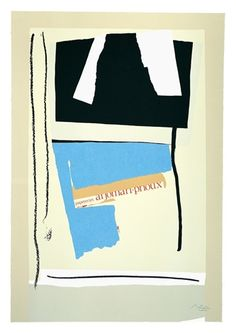 America - La France Variations V, by Robert Motherwell
