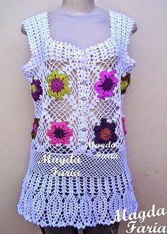 roupas crochê artesanato,acessórios , handmade ,casa, moda, tapetes, blusas, croppeds, saias,  banheiros, vestidos, gráficos,