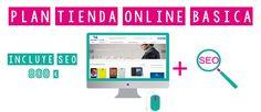 Web / Tienda online    Obten una web atractiva y con diseño responsive.