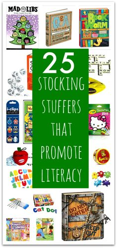 Stocking stuffers for kids that are educational. These toys and games all promote literacy. stocking stuffers for kids that promote literacy development. Stocking Stuffers For Teens, Christmas Stocking Stuffers, Stocking Ideas, Snow Much Fun, Dating Divas, Kids Stockings, Christmas Stockings, Holiday Gift Guide, Holiday Gifts