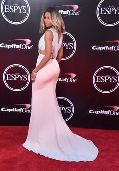 Pin for Later: Ciara Found a Sexy ESPYs Dress to Maintain That Post-Wedding Glow