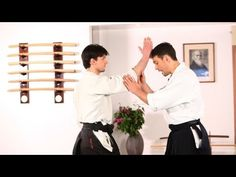 How to Do Shomen, Yokomen & Tsuki Aikido Techniques, Self Defense Techniques, Martial Arts Quotes, Martial Arts Workout, Self Defense Martial Arts, Steven Seagal, Peace Art, Dojo, Quote Posters