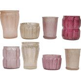 Found it at Wayfair - 8 Piece Turn of the Century Mercury Glass Votive Set