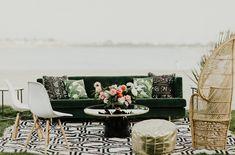 Christina + Chris The Catamaran — Kelsey Rae Designs: San Diego Wedding Planner and Event Designer Wedding Lounge, Wedding Chairs, Wedding Seating, Wedding Venues, Modern Tropical, Tropical Vibes, Beach Wedding Inspiration, Wedding Ideas, Wedding Event Planner