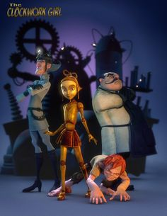 The Clockwork Girl (2010)    A nameless robot girl has recently been given the gift of life from her creator, while exploring the wonders of an ordinary world she meets an amazing mutant boy and they share a friendship that must overcome their warring families.