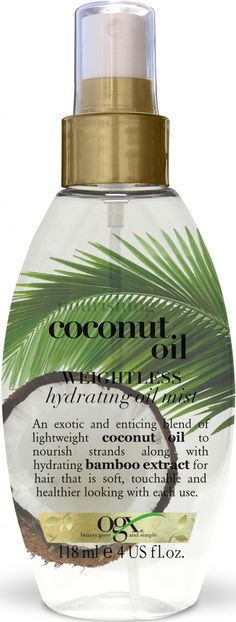 OGX NOURISHING COCONUT OIL HYDRATING OILMIST - VITA.NO