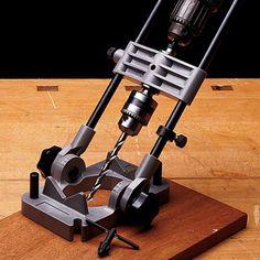 Portable Drill Guide Jig by Garrett Wade
