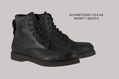 From 'Oscar by Alpinestars':-the classic Monty motorcycle boot.