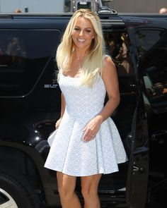 Britney, XFactor auditions in Kansas City. <3