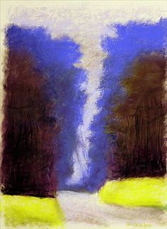 Wolf Kahn is a German-born American painter. Kahn is known for his combination of realism and Color Field, and known to work in pastel and oil paint. He studied under Hans Hofmann, and also graduated from the University of Chicago.
