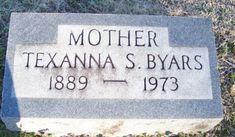 Texanna Sligh Byars (1889-1973) - Find A Grave Memorial