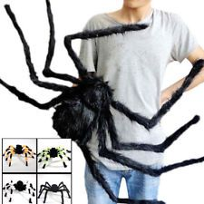 Halloween Decoration Colorful Spider Haunted House Prop Indoor Outdoor Wide