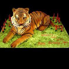 Wild Tiger Cake  Jane Asher Party Cakes Celebration London