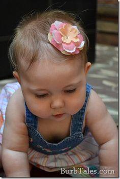 DIY Baby Hair Accessories