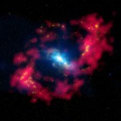 Los agujeros negros supermasivos son aún más pesados de lo que pensábamos - Astronomía para terrícolas