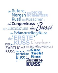 Küsse #tagdeskusses #kissingday