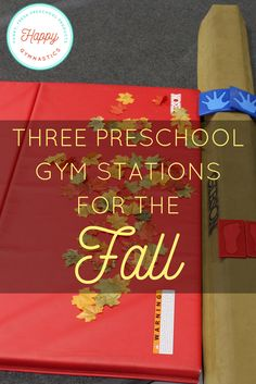 NEW ideas for the fall session from Happy Gymnastics!