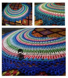 """crescent moon shawl with the edging from Doris Chan's """"all shawl"""""""