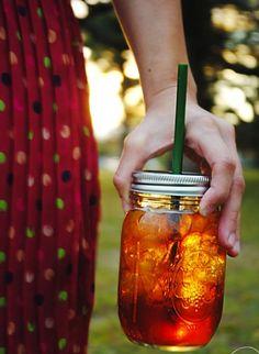 sweet tea, masons, teas, drink, iced tea, mason jars, summer days, tumbler, hot summer