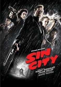 Sin City Clive Owen in red converse. Mickey Rourke and Rutger Hauer in the same film. At least one filmmaker out there knows what I really want.