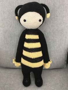 Crochet Lalylala doll Sweet Bee