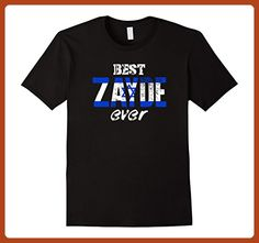 Mens Best Zayde Ever! Hebrew Yiddish Grandfather T-Shirt XL Black - Relatives and family shirts (*Partner-Link)