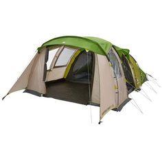Tente de camping familiale arpenaz 5.2 xl   5 personnes 2 grandes chambres